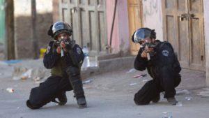 Pal--IDF aim for kneecaps